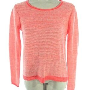 Gap Small S Wool Sweater Womens Top Neon Coral Ora